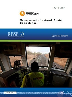 AS 7454 – Management of Network Route Competence | RISSB